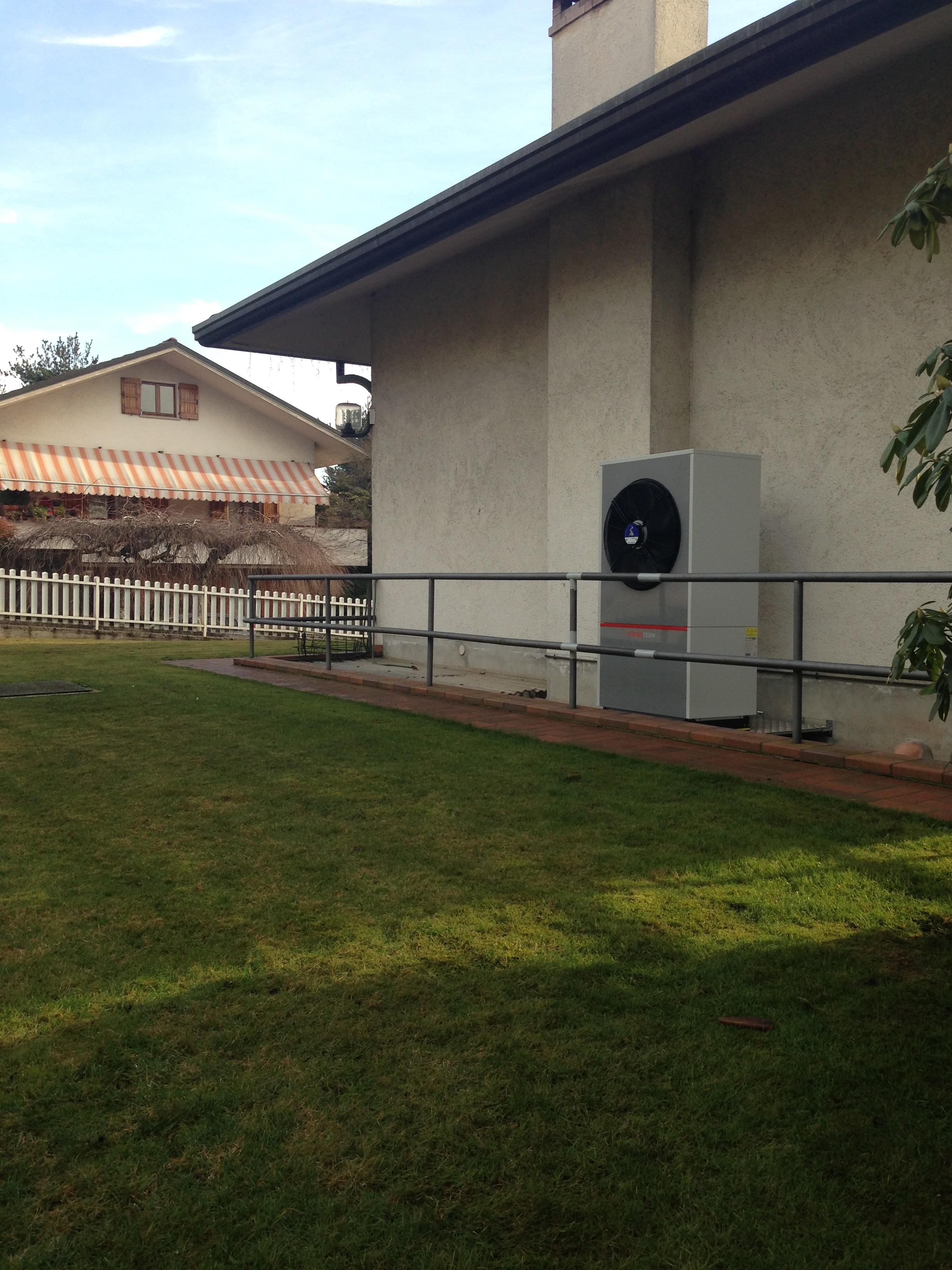 Ecco come francesco ha risparmiato il 60 con una pompa di calore - Costo metano casa ...
