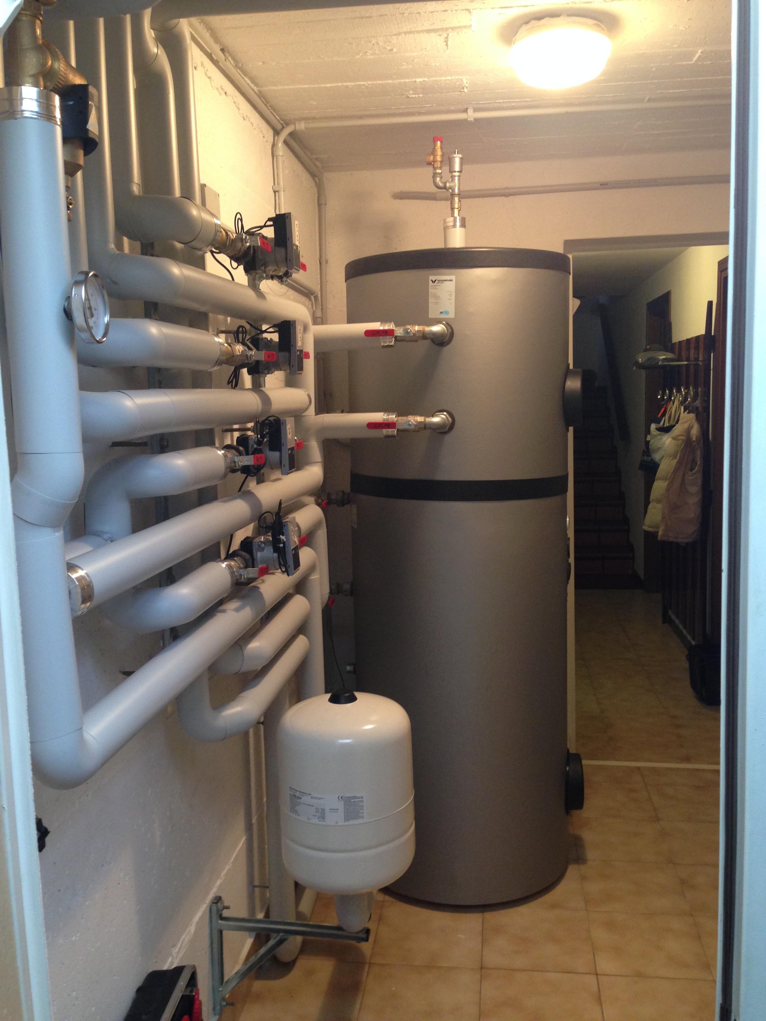 3 errori da evitare per le pompe di calore prima parte for Disegno impianto riscaldamento a termosifoni