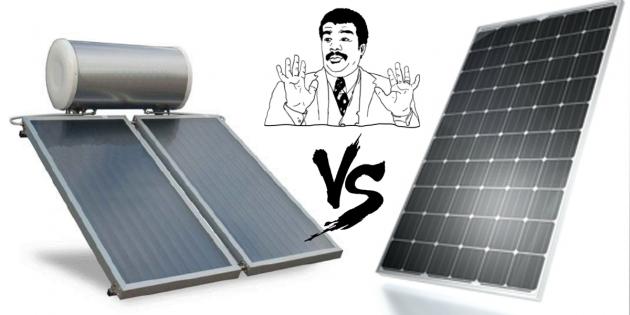 solare vs fotovoltaico